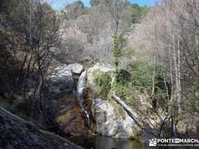 Cascadas de Gavilanes - Pedro Bernardo;el castañar del tiemblo la charca verde brujulas gente viaje